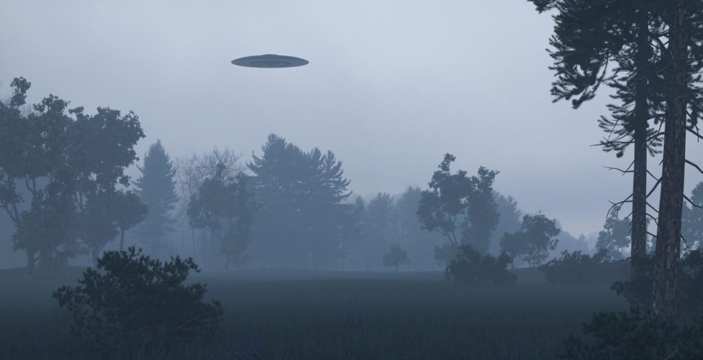 ufo forest