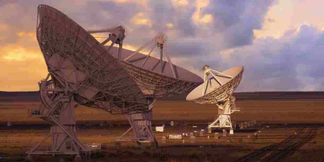 Very Large Array mensajes