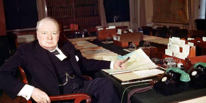 Winston Churchill desk